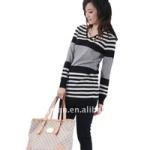 Midi_Beautiful_Sweater_With_White_and_Black