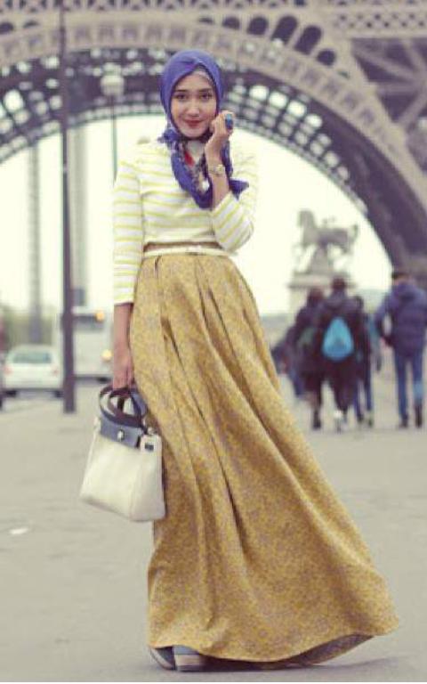 Fashion Stylish Hijab Star Nabbielz Style